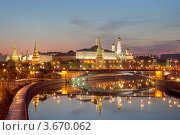 Купить «Москва. Символ России - Кремль», фото № 3670062, снято 8 мая 2012 г. (c) Литвяк Игорь / Фотобанк Лори