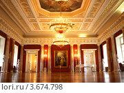 Интерьер Екатерининского зала в Царицыно (2012 год). Редакционное фото, фотограф киров николай / Фотобанк Лори