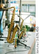 Купить «Магазин музыкальных инструментов», фото № 3676450, снято 5 мая 2012 г. (c) David Castillo Dominici / Фотобанк Лори