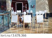 "Купить «Дети рисуют в ТРЦ ""Афимолл Сити""», эксклюзивное фото № 3678366, снято 30 июня 2012 г. (c) Алёшина Оксана / Фотобанк Лори"