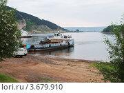 Купить «Река Лена в городе Киренске Иркутской области», эксклюзивное фото № 3679910, снято 17 июня 2011 г. (c) Валерий Лаврушин / Фотобанк Лори