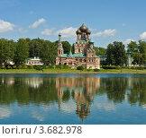 Купить «Москва, храм Святой Троицы в усадьбе Останкино», фото № 3682978, снято 25 июня 2012 г. (c) ИВА Афонская / Фотобанк Лори