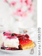 Пирожные. Стоковое фото, фотограф Виктор Шилин / Фотобанк Лори