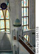 Купить «Минбар в мечети Кул Шариф», эксклюзивное фото № 3684118, снято 4 июля 2012 г. (c) Илюхина Наталья / Фотобанк Лори