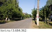 Купить «Улица Ленина, Киреевск», эксклюзивное фото № 3684362, снято 14 июля 2012 г. (c) Вячеслав Потапов / Фотобанк Лори