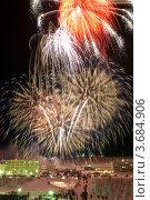 Купить «Якутия, Айхал. Новогодний салют», фото № 3684906, снято 1 января 2008 г. (c) Ахметсафин Руслан / Фотобанк Лори
