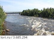 Купить «Река Вуокса», фото № 3685294, снято 8 июля 2012 г. (c) Захарова Татьяна / Фотобанк Лори