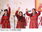 Бурановские бабушки (2012 год). Редакционное фото, фотограф виктор антонов / Фотобанк Лори