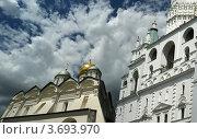 Купить «Соборная площадь Московского Кремля», фото № 3693970, снято 23 июля 2012 г. (c) Владимир Журавлев / Фотобанк Лори