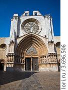 Кафедральный собор в Таррагоне, Испания (2011 год). Стоковое фото, фотограф Артур Даминов / Фотобанк Лори