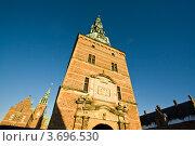 Башня замка Кронборг, Дания (2011 год). Стоковое фото, фотограф Артур Даминов / Фотобанк Лори