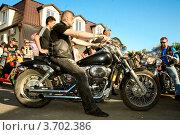 Конкурсы байкеров (2012 год). Редакционное фото, фотограф Татьяна Плешакова / Фотобанк Лори