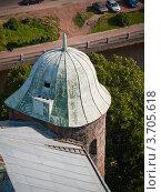 Купить «Выборг: крыша Райской башни Выборгского замка», фото № 3705618, снято 11 июля 2009 г. (c) Скворцов Андрей / Фотобанк Лори