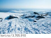 Купить «Снег в Хибинах зимой», фото № 3705910, снято 31 марта 2012 г. (c) Morgenstjerne / Фотобанк Лори