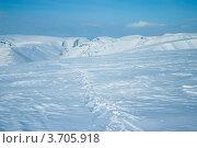 Купить «Заснеженные горы Хибины зимой», фото № 3705918, снято 31 марта 2012 г. (c) Morgenstjerne / Фотобанк Лори