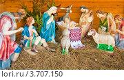 Рождественский вертеп. Стоковое фото, фотограф Лариса Кривошапка / Фотобанк Лори