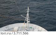 Купить «Круизный лайнер в море», видеоролик № 3711566, снято 4 октября 2010 г. (c) Losevsky Pavel / Фотобанк Лори