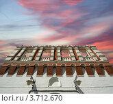 Купить «Кутафья башня Московского Кремля», фото № 3712670, снято 20 августа 2010 г. (c) Владимир Журавлев / Фотобанк Лори