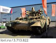 Боевая машина поддержки танков БМП-Т «Терминатор» (2012 год). Редакционное фото, фотограф Вячеслав Цыкун / Фотобанк Лори