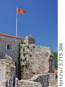 Купить «Крепость в Будве, Черногория», фото № 3719366, снято 15 июня 2012 г. (c) Доброславская Галина / Фотобанк Лори