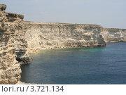 Купить «Неприступный берег Тарханкута», фото № 3721134, снято 1 мая 2012 г. (c) Робул Дмитрий / Фотобанк Лори