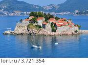 Остров Святого Стефана (Черногория) (2012 год). Редакционное фото, фотограф Окунев Александр Владимирович / Фотобанк Лори