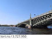 Троицкий мост (2012 год). Стоковое фото, фотограф Гузынин Тимофей / Фотобанк Лори