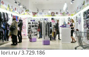Купить «В супермаркете Aushan(Таймлапс)», видеоролик № 3729186, снято 8 декабря 2010 г. (c) Losevsky Pavel / Фотобанк Лори