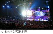 Купить «Большая цифра 2011(Таймлапс)», видеоролик № 3729210, снято 16 марта 2011 г. (c) Losevsky Pavel / Фотобанк Лори
