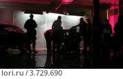 Купить «На съемках видеоклипа(Таймлапс)», видеоролик № 3729690, снято 18 декабря 2010 г. (c) Losevsky Pavel / Фотобанк Лори