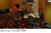 Купить «Международная конференция STOCKinRUSSIA10 (Таймлапс)», видеоролик № 3729794, снято 12 декабря 2010 г. (c) Losevsky Pavel / Фотобанк Лори