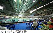 Купить «Чемпионат России по плаванию», видеоролик № 3729986, снято 25 марта 2011 г. (c) Losevsky Pavel / Фотобанк Лори