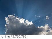 Купить «Небесный пейзаж», фото № 3730786, снято 5 августа 2012 г. (c) Наталья Волкова / Фотобанк Лори