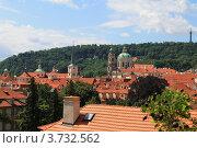 Прага, крыши домов (2012 год). Стоковое фото, фотограф Чихний Анастасия / Фотобанк Лори