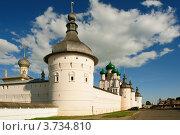 Общий вид на Ростовский кремль (2012 год). Редакционное фото, фотограф Денис Ларкин / Фотобанк Лори