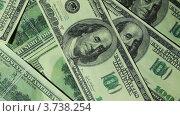 Купить «Банкноты в сто долларов вращаются на двух уровнях», видеоролик № 3738254, снято 28 мая 2007 г. (c) Losevsky Pavel / Фотобанк Лори