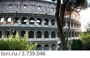 Купить «Колизей Флавиев Амфитеатр в Риме», видеоролик № 3739046, снято 28 июня 2011 г. (c) Losevsky Pavel / Фотобанк Лори