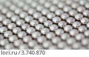 Купить «Ровные ряды магнитных шариков», видеоролик № 3740870, снято 5 мая 2011 г. (c) Losevsky Pavel / Фотобанк Лори