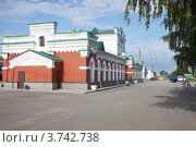 Купить «Привокзальная площадь. Лукоянов», фото № 3742738, снято 11 августа 2012 г. (c) Александр Романов / Фотобанк Лори