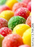 Купить «Конфеты драже крупным планом», фото № 3744206, снято 29 июня 2012 г. (c) Икан Леонид / Фотобанк Лори