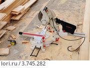 Купить «Дисковая пила», эксклюзивное фото № 3745282, снято 13 августа 2012 г. (c) Юрий Морозов / Фотобанк Лори