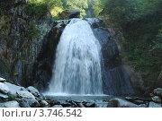 Водопад Корбу. Стоковое фото, фотограф Олег Брагин / Фотобанк Лори