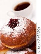 Купить «Пончики с сиропом», фото № 3747062, снято 26 ноября 2011 г. (c) Великова Ирина Николаевна / Фотобанк Лори