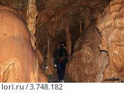 Купить «Мраморная пещера. Крым, плато Чатырдаг», эксклюзивное фото № 3748182, снято 29 апреля 2012 г. (c) Rekacy / Фотобанк Лори