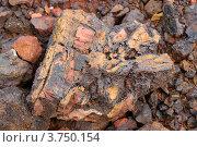Окисленная свинцово-цинковая руда. Стоковое фото, фотограф Александр Игнатов / Фотобанк Лори