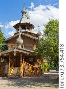 Купить «Москва, храм Георгия Победоносца в Коптево», фото № 3754418, снято 8 августа 2012 г. (c) ИВА Афонская / Фотобанк Лори