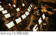 Купить «Театр Новая Опера», видеоролик № 3758026, снято 15 октября 2011 г. (c) Losevsky Pavel / Фотобанк Лори