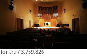 Купить «Татьяна Андрианова играет на органе», видеоролик № 3759826, снято 30 сентября 2011 г. (c) Losevsky Pavel / Фотобанк Лори