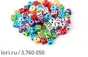 Купить «Много красочных кубиков», видеоролик № 3760050, снято 1 сентября 2011 г. (c) Losevsky Pavel / Фотобанк Лори