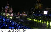 Купить «Выступлениея оркестрового коллектива из Мексики на фестивале Спасская башня, таймлапс», видеоролик № 3760486, снято 4 октября 2011 г. (c) Losevsky Pavel / Фотобанк Лори
